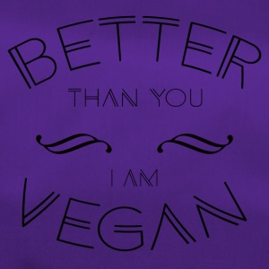 VEGAN BETTER - Sporttasche