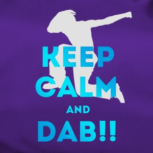 keep calm and dab dance arm above - Duffel Bag