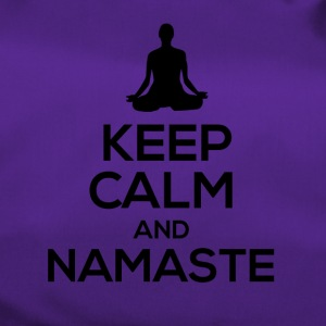 Keep Calm and Namaste... - Sporttasche