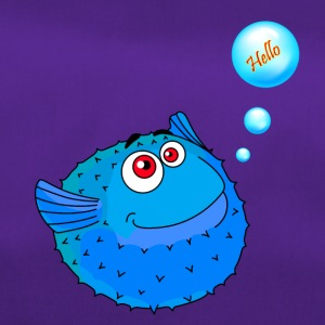 Cute Blue Puffer Fish - Torba sportowa