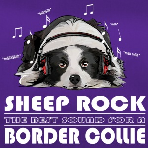 Border collie ROCK SHEEP - Sac de sport