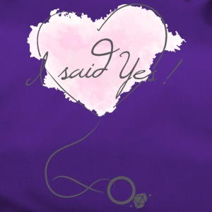"""I said Yes!"" - Engagement - Bride to be - Duffel Bag"