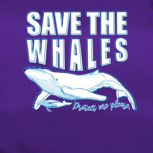 Save the whales - Duffel Bag