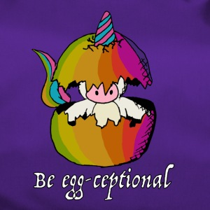 Unicorns are Egg-ceptional - Duffel Bag