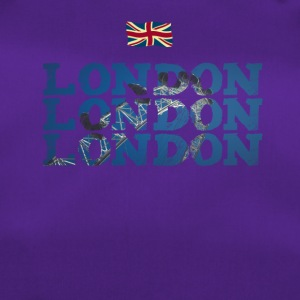 London England flag brexit Great brittain eye - Duffel Bag
