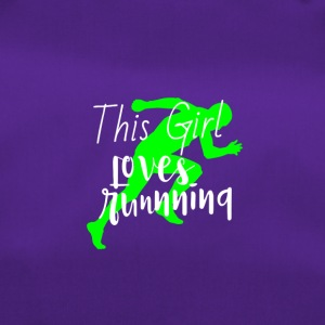 This Girl loves running | Joggen Marathon laufen - Sporttasche