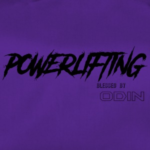 BLESSED BY ODIN powerlifting - Duffel Bag