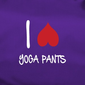 I love yoga pants - Duffel Bag