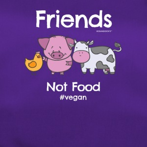 Friends Not Food TShirt for Vegans and Vegetarians - Sporttasche