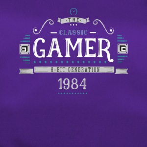 classic Gamer Retro 8bit Generation 1984 Birthday - Sporttasche