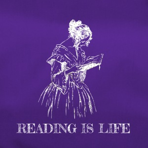Reading is life - Duffel Bag