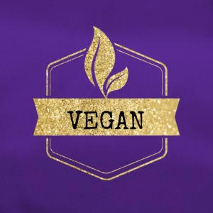 Golden vegan vegetarian design - Duffel Bag