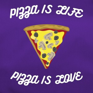 ♥ Pizza is Life ♥ Pizza is Love ♥ Fun T-Shirt - Duffel Bag
