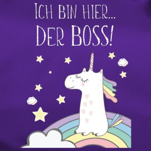 Unicorn is the boss! - Duffel Bag