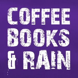 Coffee, books and rainy weather - Duffel Bag