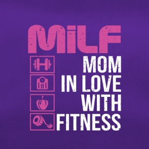 Mother in love with fitness - Duffel Bag
