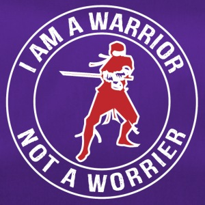 I'm a Warrior, Not a Worrier - Duffel Bag