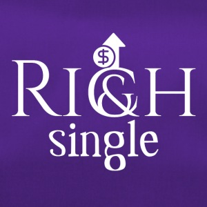 I am rich and single, deal with it - Sporttasche