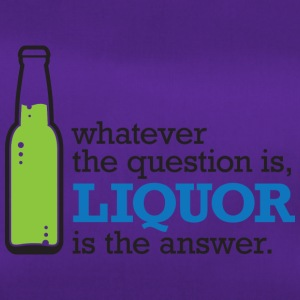 No Matter What Question. Alcohol Is The Answer! - Duffel Bag