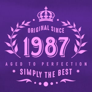 original since 1987 simply the best 30th birthday - Sporttasche