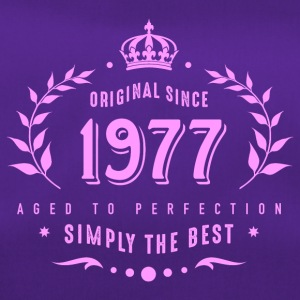 original since 1977 simply the best 40th birthday - Duffel Bag