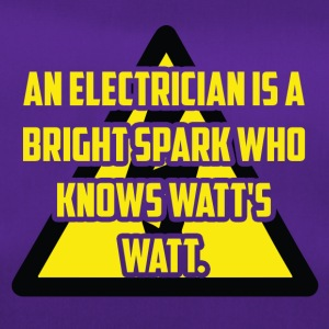 Electrician: An Electrician is a bright spark who - Duffel Bag