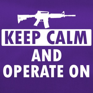 Keep Calm Operate on - Sporttasche
