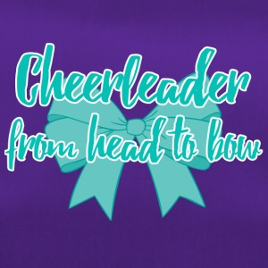 Cheerleader from head to bow. - Duffel Bag