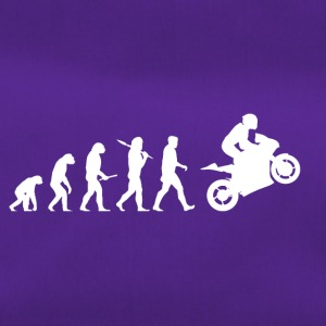 Evolution Motorbike! Motorcycle! funny! Bikers! - Duffel Bag