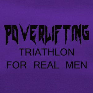TRIATHLON FOR REAL MEN - Borsa sportiva