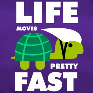 Life moves pretty fast - Sporttasche