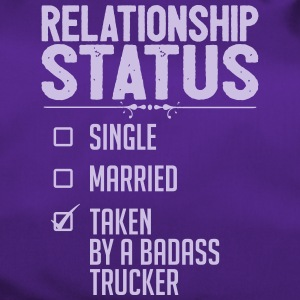 Relationship Status Taken badass Trucker - Duffel Bag