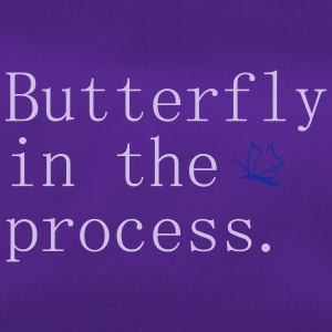 Butterfly in the process - Sac de sport