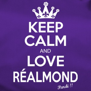KEEP CALM and LOVE RÉALMONT B01 - Sac de sport