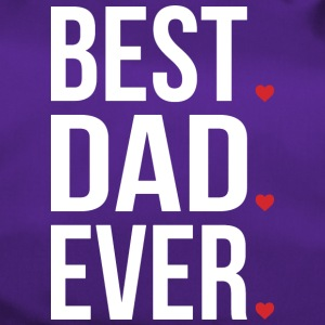 Best Dad Ever Love Fathers day - vatertag - Sporttasche