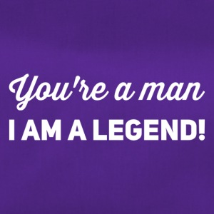 you're a man i am a legend weiss - Sporttasche
