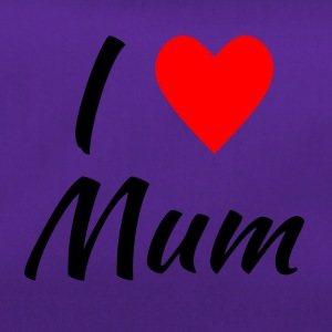 I LOVE Mum - Duffel Bag