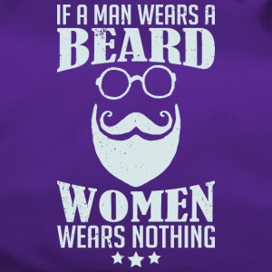 If a man wears a beard - Duffel Bag