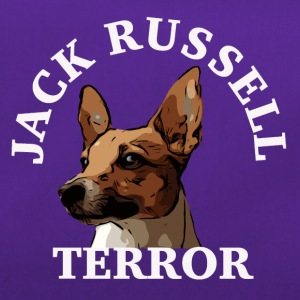 Jack Russell terror4 white - Duffel Bag