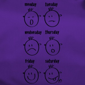 Weekdays Smilies - Duffel Bag
