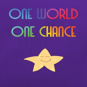 One World One Chance - Sportsbag