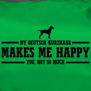 ENGLISH KURZHAAR makes me happy - Duffel Bag