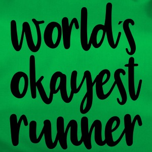 World´s okayest runner - Sporttasche