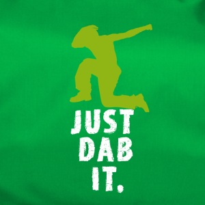 dab green man Dabbing touchdown Football fun cool - Sporttasche