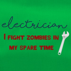 Electrician: Electrician - I fight zombies in my sp - Duffel Bag