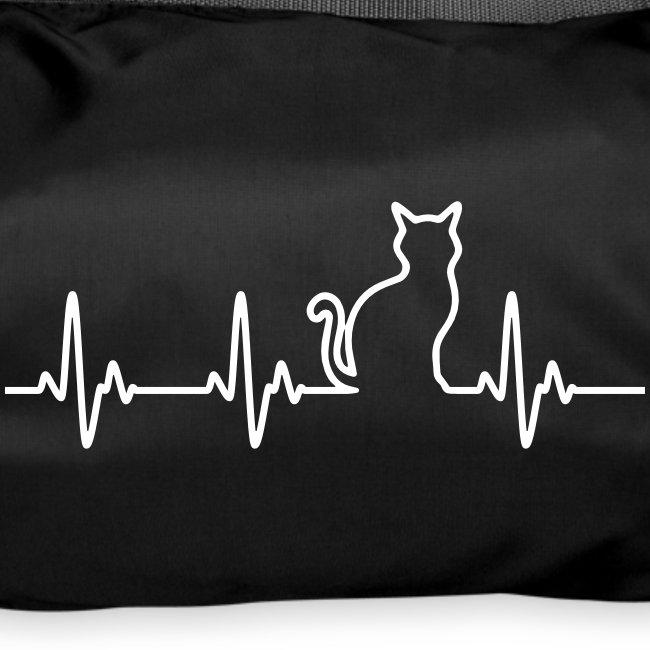 Vorschau: Ein Herz für Katzen - Sporttasche