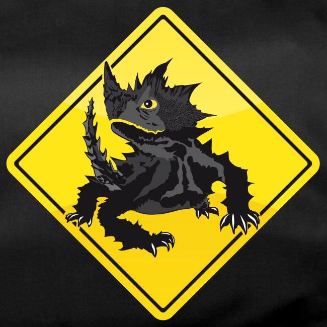 Australien Roadsign Thorny Devil