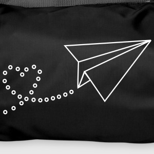 Flyer with heart - Duffel Bag