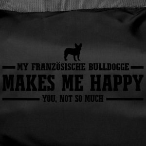 FRENCH BULLDOGS makes me happy - Duffel Bag