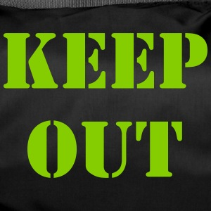 keep out - Sac de sport
